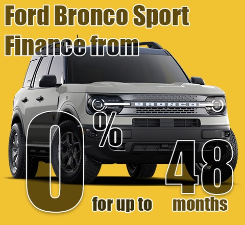 2021 May Ford Bronco Sport Finance Special