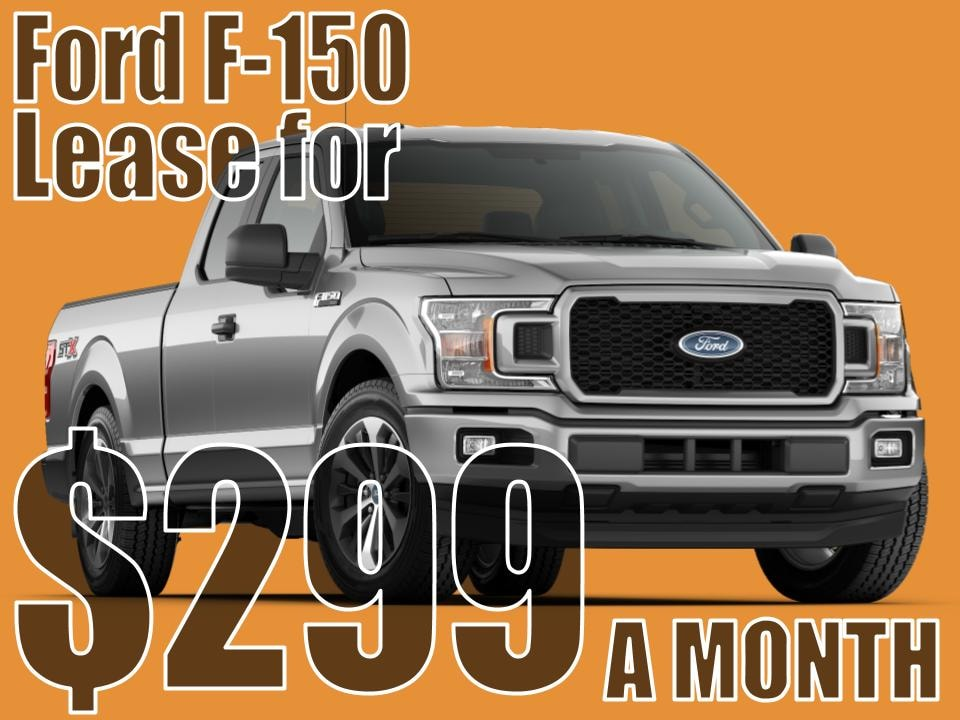 F-150 September Lease Special!