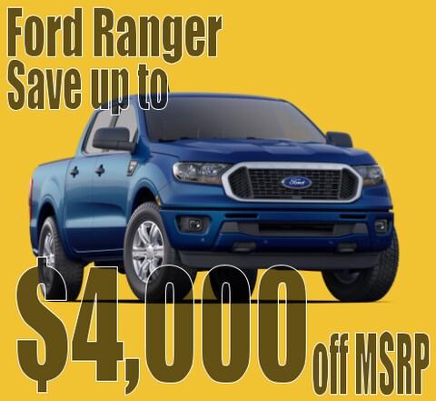 2020 Ford Ranger March Savings!
