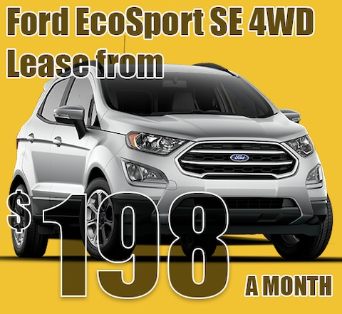 2021 May Ford EcoSport Lease Special