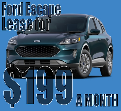 December Escape Lease Special!