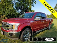 Used 2018 Ford F-150 Lariat Truck SuperCrew Cab for Sale in St Albans VT