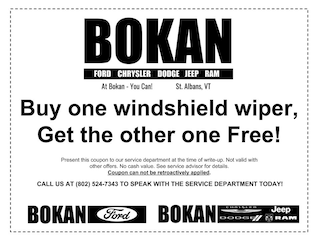 Buy One, Get One Wipers!