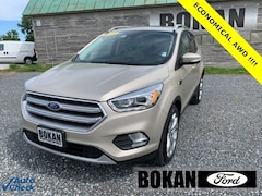 Used 2017 Ford Escape Titanium SUV for Sale in St Albans VT