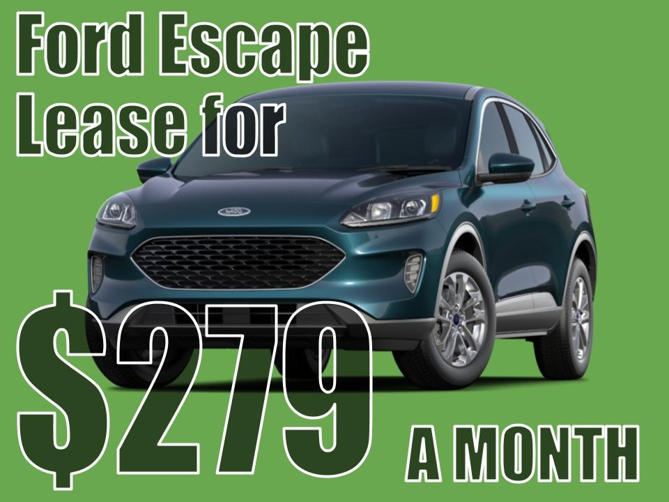 2020 Escape July Lease Special!
