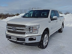 New 2019 Ford F-150 King Ranch Truck SuperCrew Cab for Sale in St. Albans VT