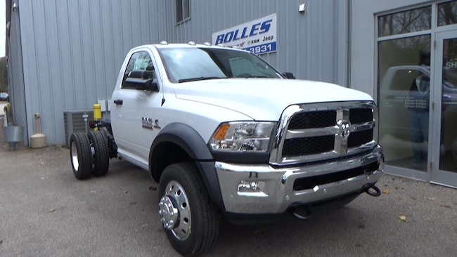 2018 Ram 5500 Chassis Tradsman Cab and Chassis
