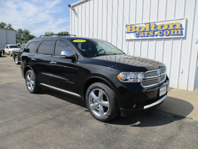 Used 2013 Dodge Durango Citadel AWD SUV for sale in Council Grove, KS