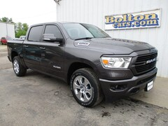 New 2021 Ram 1500 BIG HORN CREW CAB 4X4 5'7 BOX Crew Cab 1C6SRFFT4MN534203 for sale or lease in Council Grove, KS