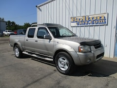 2002 Nissan Frontier SE-V6 w/Leather Truck Long Bed Crew Cab