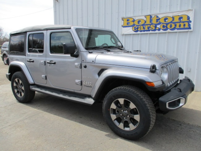 New 2018 Jeep Wrangler UNLIMITED SAHARA 4X4 Sport Utility for sale or lease in Council Grove, KS