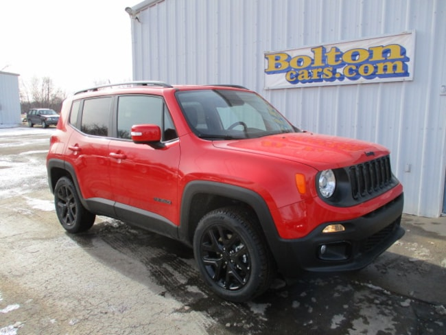 New 2017 Jeep Renegade ALTITUDE 4X4 Sport Utility for sale or lease in Council Grove, KS