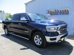 New 2019 Ram 1500 LARAMIE CREW CAB 4X4 6'4 BOX Crew Cab 1C6SRFRT7KN780090 for sale or lease in Council Grove, KS