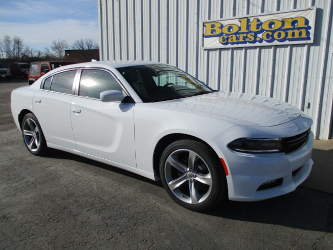 New 2018 Dodge Charger SXT PLUS RWD - LEATHER Sedan for sale or lease in Council Grove, KS