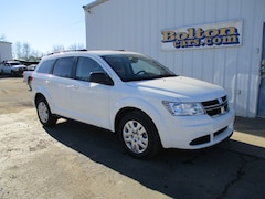 New 2018 Dodge Journey SE Sport Utility 3C4PDCABXJT510493 for sale or lease in Council Grove, KS