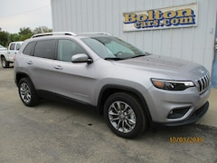 New 2020 Jeep Cherokee LATITUDE PLUS FWD Sport Utility 1C4PJLLX0LD511100 for sale or lease in Council Grove, KS