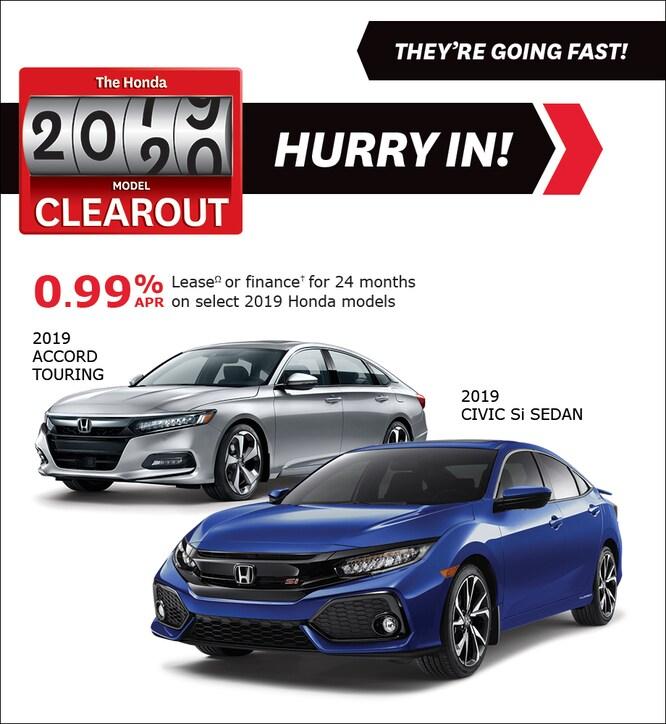 Honda Finance Specials >> New Honda Specials And Promotions Classic Honda