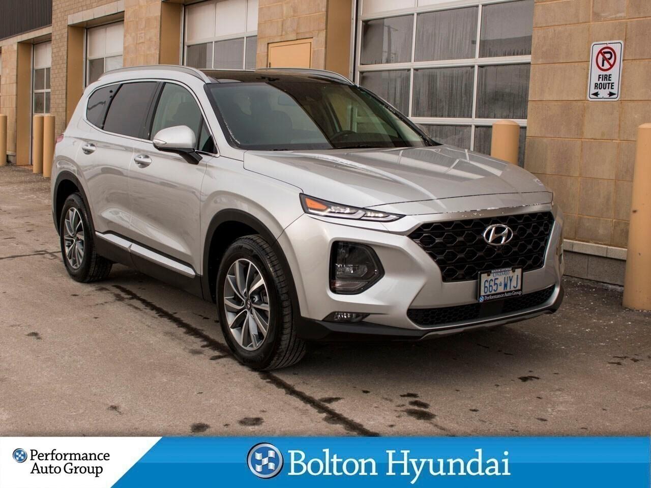 2019 Hyundai Santa Fe Sport 2.0T Luxury DEMO Leather PanoRoof Camera Bluelink SUV