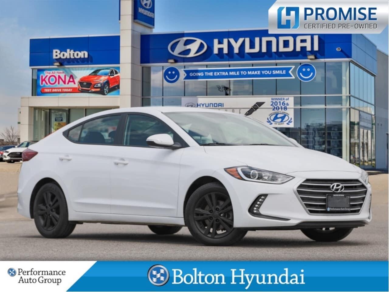 2017 Hyundai Elantra GL Camera Bluetooth HeatedSeats CPO H-promise Sedan