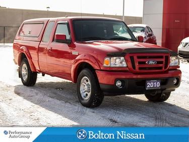 2010 Ford Ranger Sport. Extended Cab. V-6. Truck Super Cab