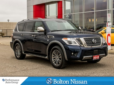 2018 Nissan Armada Platinum.Reserve, Leather. Navigation. Alloys. SUV
