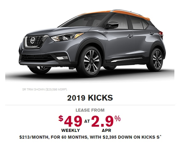 2019 Nissan Kicks Special Offer