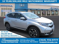 New 2018 Honda CR-V Touring AWD SUV 7FARW2H95JE056978 for Sale in Hazelwood
