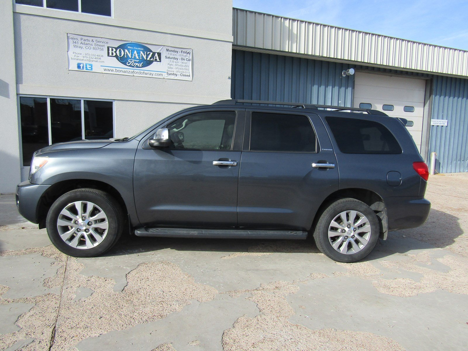 2010 Toyota Sequoia Limited SUV