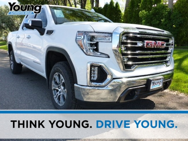 New 2019 GMC Sierra 1500 SLT Truck for sale in Layton, Utah at Young Buick GMC