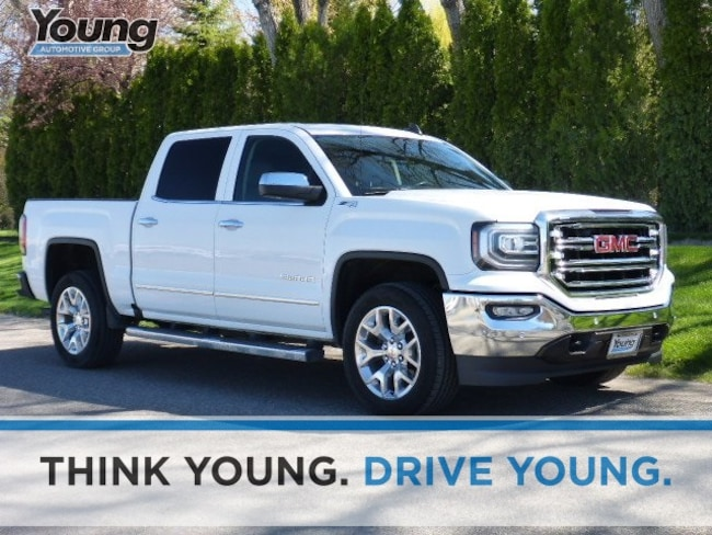 Used 2016 GMC Sierra 1500 SLT Truck for sale in Layton, UT at Young Buick GMC