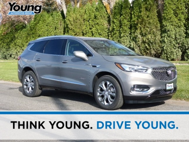 New 2019 Buick Enclave Avenir SUV for sale in Layton, Utah at Young Buick GMC