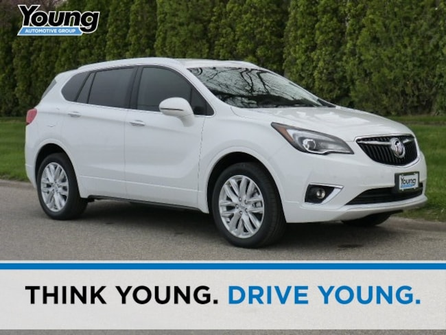 New 2019 Buick Envision Premium I SUV for sale in Layton, Utah at Young Buick GMC