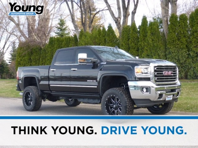New 2019 GMC Sierra 2500HD SLT Truck for sale in Layton, Utah at Young Buick GMC