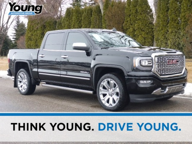 New 2018 GMC Sierra 1500 Denali Truck for sale in Layton, Utah at Young Buick GMC