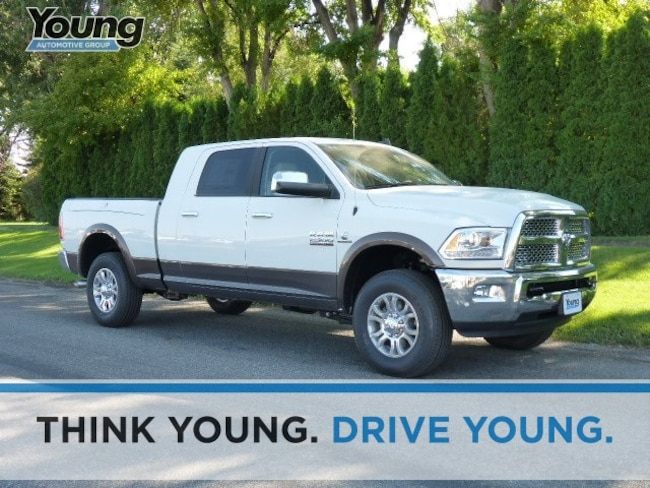 New 2018 Ram 2500 LARAMIE MEGA CAB 4X4 6'4 BOX Mega Cab for sale in Morgan, UT at Young Chrysler Jeep Dodge Ram