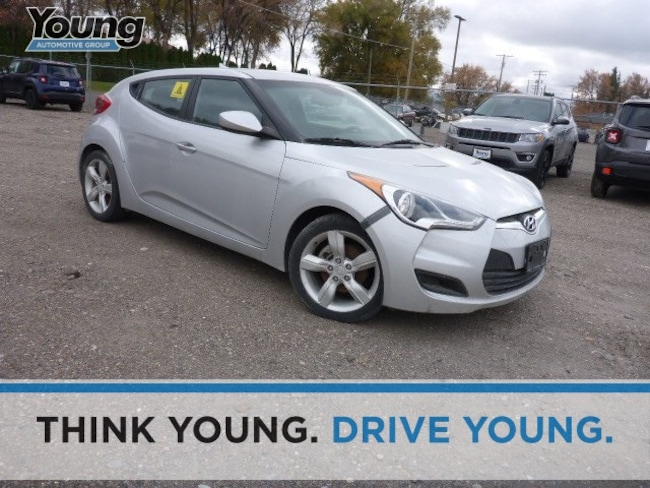 Used 2012 Hyundai Veloster Base w/Black (A6) Hatchback for sale in Layton, UT at Young Buick GMC