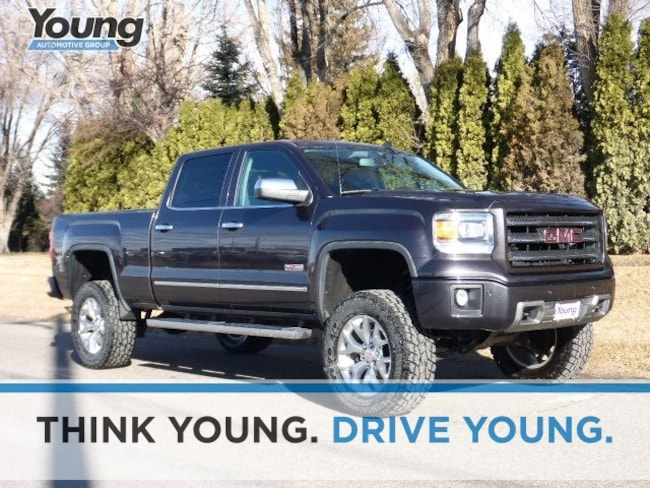 Used 2014 GMC Sierra 1500 SLT Truck Crew Cab for sale in Layton, UT at Young Buick GMC