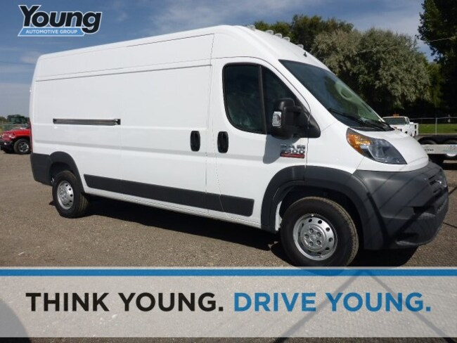 New 2018 Ram ProMaster 2500 CARGO VAN HIGH ROOF 159 WB Cargo Van for sale in Morgan, UT at Young Chrysler Jeep Dodge Ram