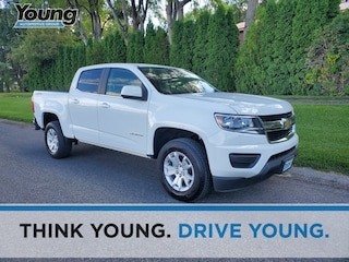 Used 2019 Chevrolet Colorado LT Truck Crew Cab 1GCGTCEN7K1105708 for sale in Kaysville, Utah at Young Kia
