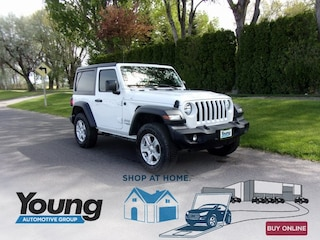 2020 Jeep Wrangler SPORT S 4X4 Sport Utility for sale at Young Chrysler Jeep Dodge Ram in Morgan, UT