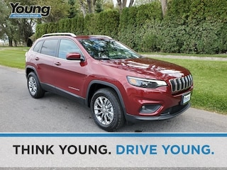 2020 Jeep Cherokee LATITUDE PLUS 4X4 Sport Utility for sale at Young Chrysler Jeep Dodge Ram in Morgan, UT