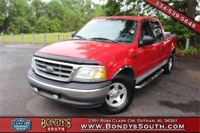 2003 Ford F-150 XLT Crew Cab Short Bed Truck
