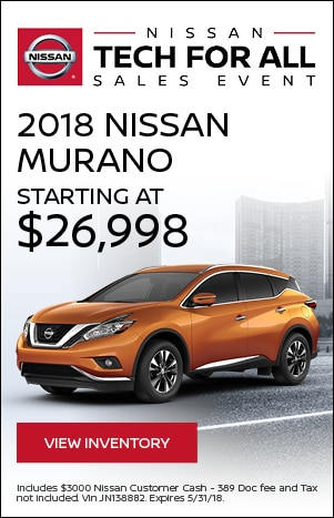 Tech For All - 2018 Nissan Murano