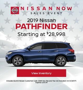 New 2019 Nissan Pathfinder 3/5/2019