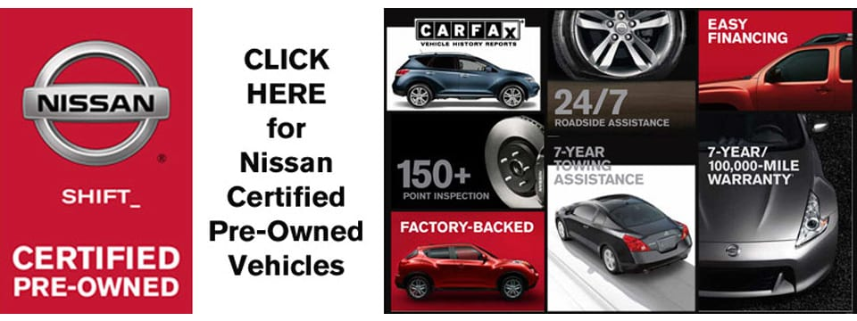 What Is Certified Pre Owned Bondy S Nissan