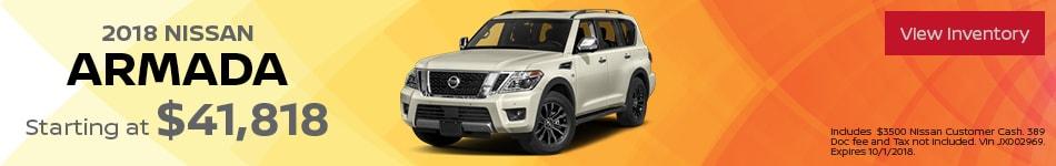 New 2018 Nissan Armada