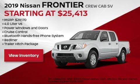2019 Nissan Frontier Crew Cab SV