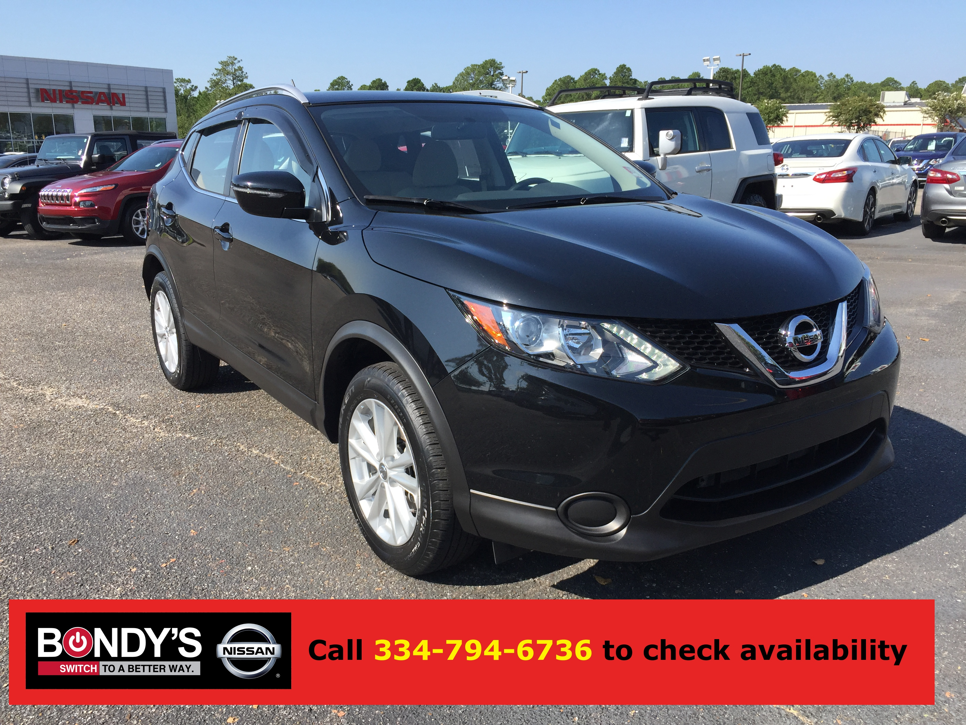 Used 2017 Nissan Rogue Sport For Sale at Bondy's Nissan
