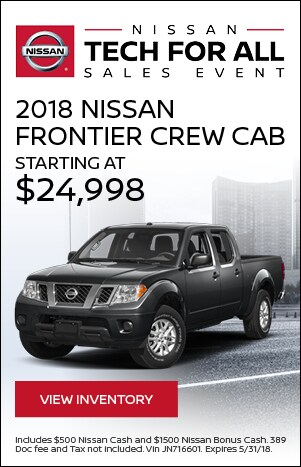 Tech For All - 2018 Nissan Frontier