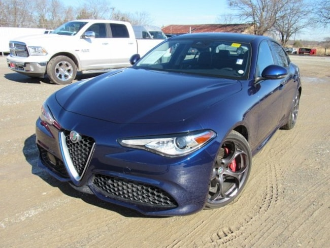 Used 2017 Alfa Romeo Giulia Ti Sedan For Sale Bonham, TX